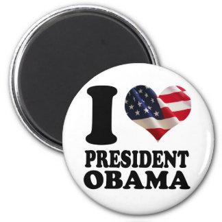 I love President Obama Magnet