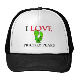 I Love Prickly Pears Mesh Hats