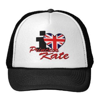 I Love Princess Kate Trucker Hat