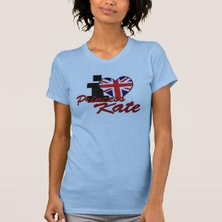 I Love Princess Kate T-shirts