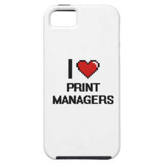 I love Print Managers iPhone 5 Covers