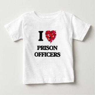 I love Prison Officers T Shirt