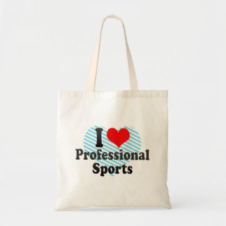 I love Professional Sports Canvas Bags