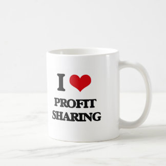 I Love Profit Sharing Basic White Mug