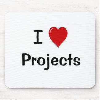 I Love Projects - Mousepad