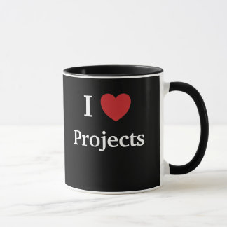 I Love Projects / Projects Heart Me Motivational Mug