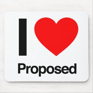 i love proposed mousepad