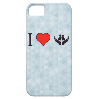 I Love Protection Barely There iPhone 5 Case