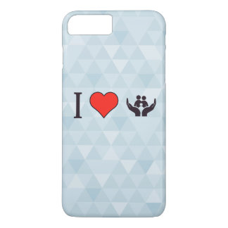I Love Protection iPhone 7 Plus Case