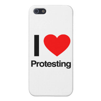 i love protesting iPhone 5/5S cover