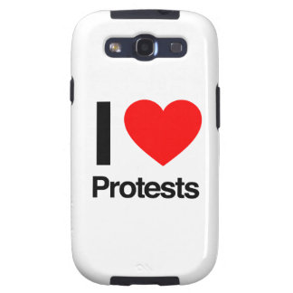 i love protests samsung galaxy SIII covers