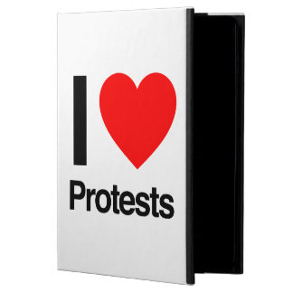 i love protests case for iPad air