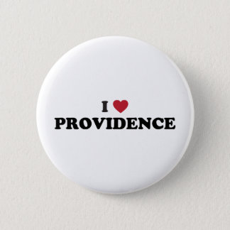 I Love Providence Rhode Island 6 Cm Round Badge