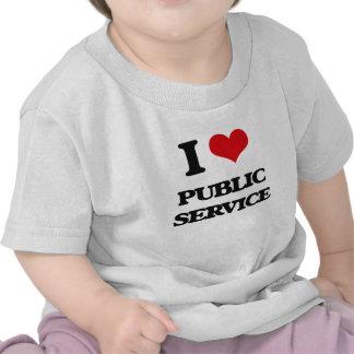 I Love Public Service Shirt