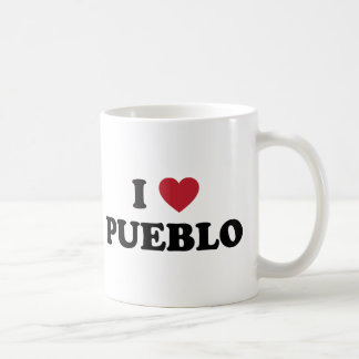 I Love Pueblo Colorado Coffee Mug