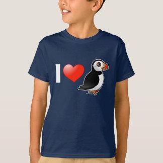 I Love Puffins T-Shirt