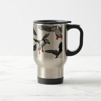 I Love Puffins! Travel Mug