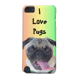I Love Pugs! Rainbow iPod Speck Case