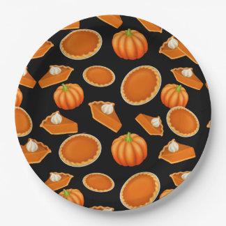 I Love Pumpkin Pie Paper Plates 9 Inch Paper Plate
