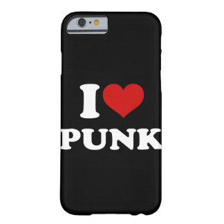 I Love Punk Barely There iPhone 6 Case