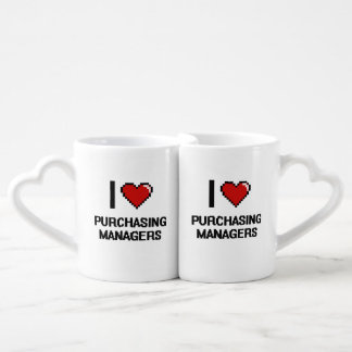 I love Purchasing Managers Couple Mugs