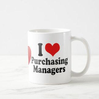 I Love Purchasing Managers Coffee Mugs