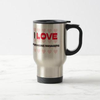 I LOVE PURCHASING MANAGERS COFFEE MUG