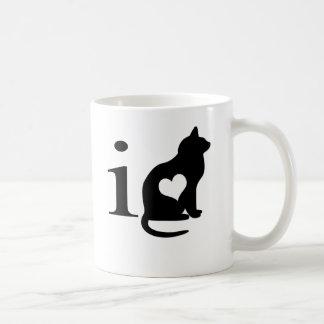 I love pussy basic white mug