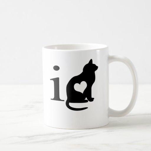 I love pussy coffee mugs