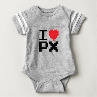 I Love PX Baby Bodysuit