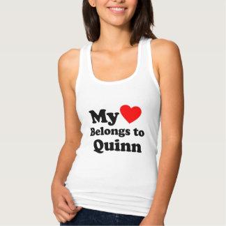 I love Quinn Singlet