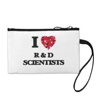 I love R & D Scientists Change Purse