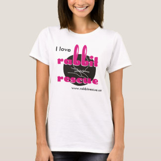I love Rabbit Rescue T-shirt