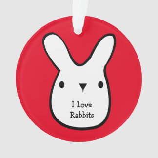 I Love Rabbits (customizable)
