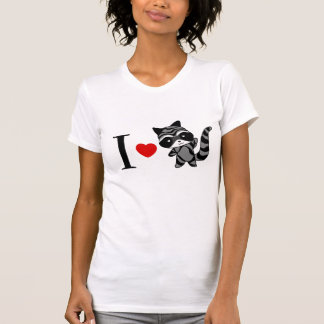 I love raccoon T-shirt