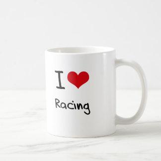 I love Racing Coffee Mug