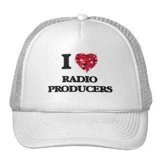 I love Radio Producers Cap