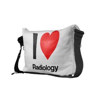 i love radiology commuter bag