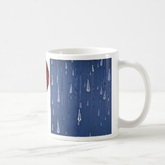 I Love Rain Coffee Mug