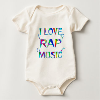 I Love Rap Baby Bodysuit