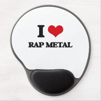 I Love RAP METAL Gel Mouse Pad