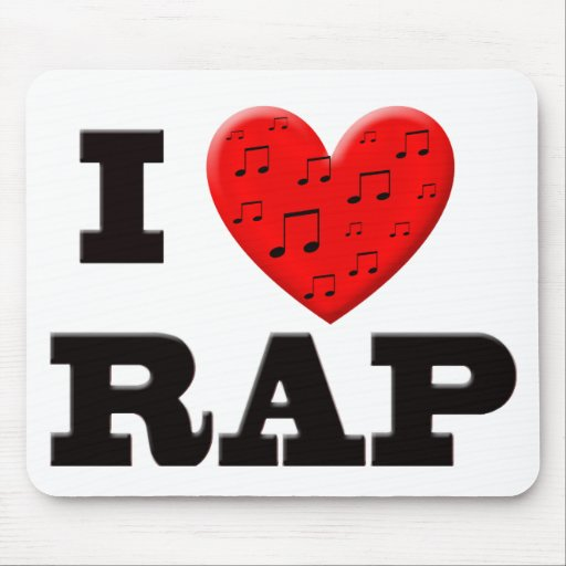 I Love Rap Mousepad