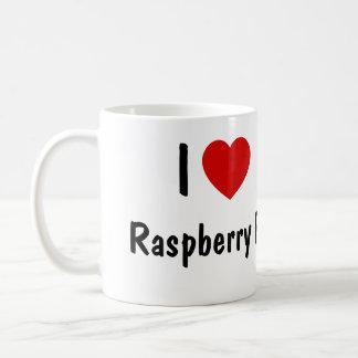 I Love Raspberry Pi Coffee Mug
