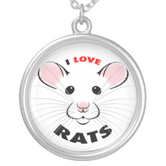 I Love Rats Necklace