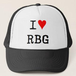 i love rbg trucker hat