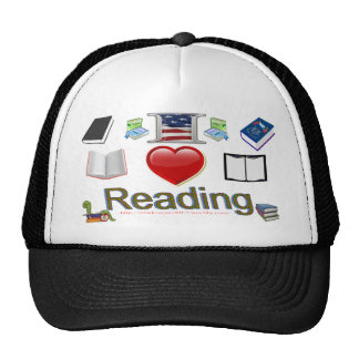 I love reading cap