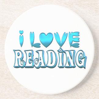 I Love Reading Coaster