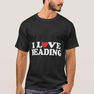 I Love Reading Mens T-shirt