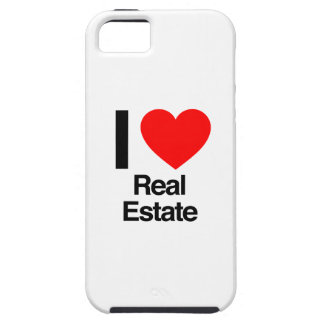 i love real estate tough iPhone 5 case
