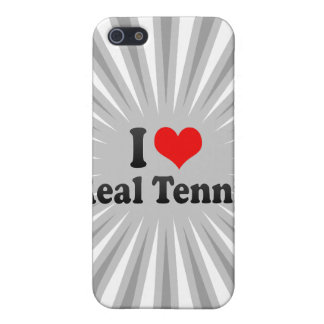 I love Real Tennis iPhone 5 Cover
